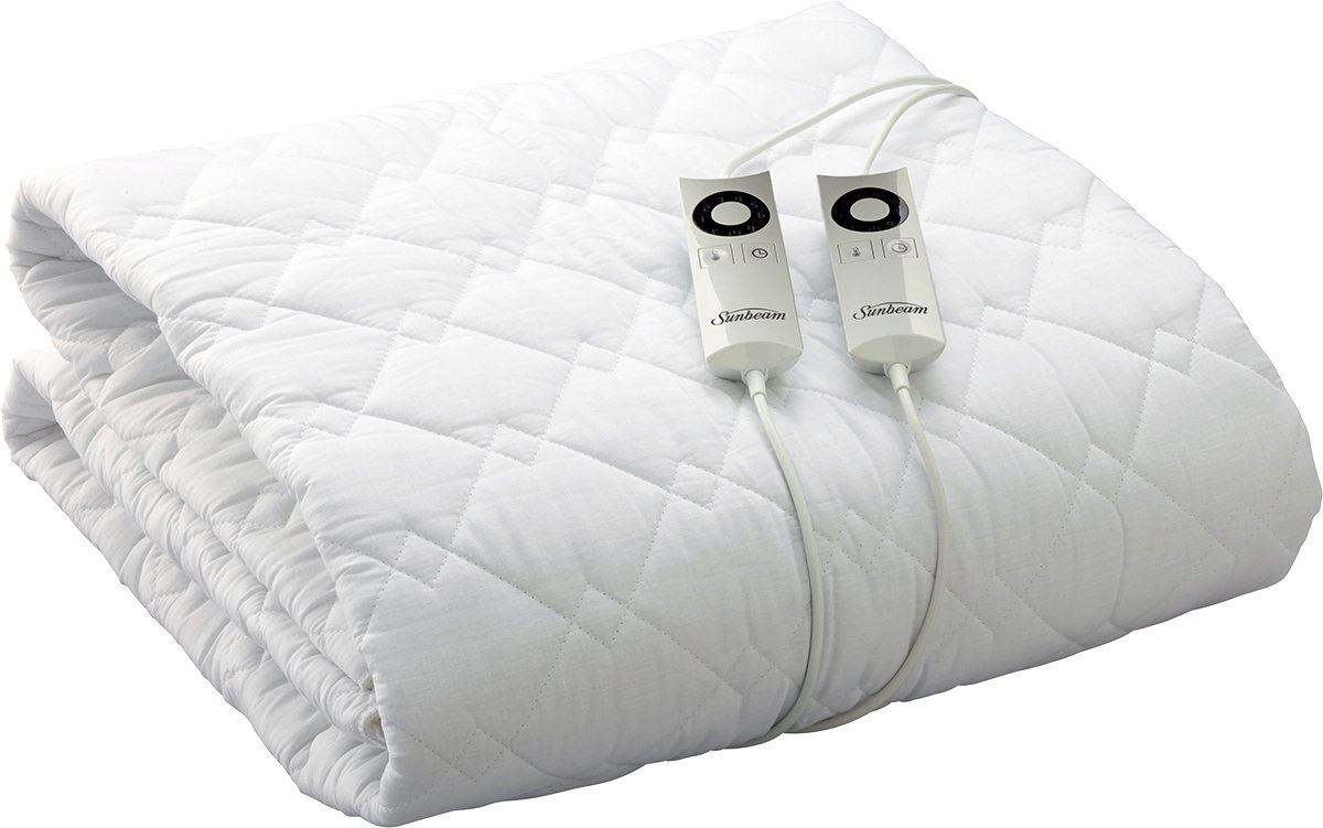 Sunbeam King Quilted Electric Blanket BL5471