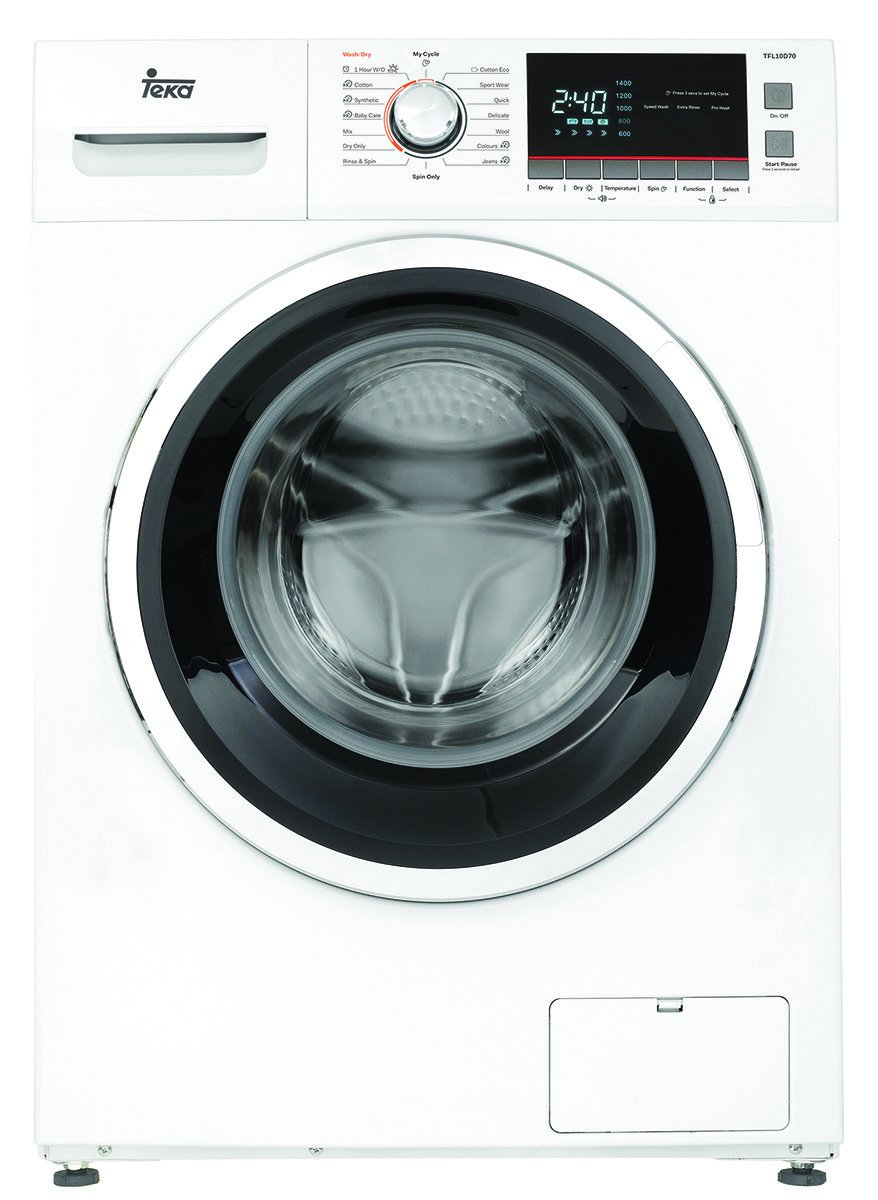 Washer and dryer together