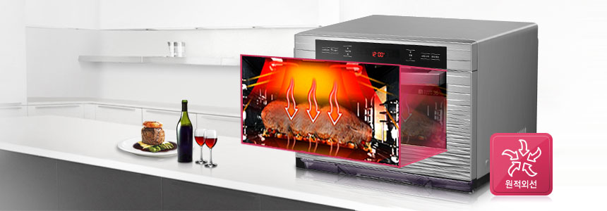 The samsung zipel smart oven uses a smartphone app and wifi