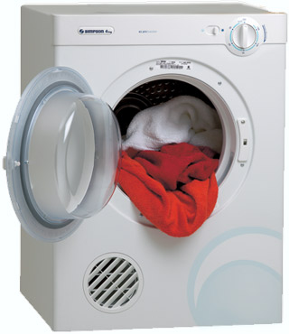 simpson dryer how to use