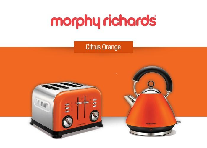 nice Orange Small Kitchen Appliances #5: Orange Small Kitchen Appliances - Richards competition colours the kitchen  ? Appliances Online Blog. Richards competition ...