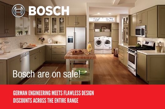 Bosch Sale Now On Save On Bosch Washers Cookers More