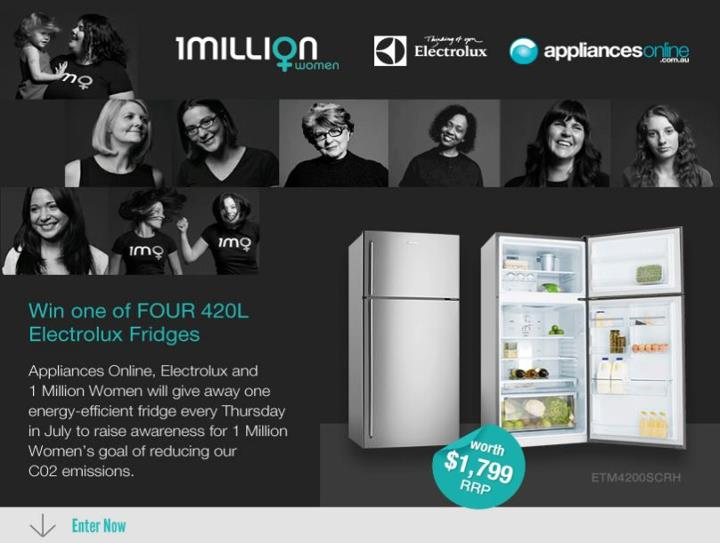 your chance to win one of four energy efficient fridges. Black Bedroom Furniture Sets. Home Design Ideas
