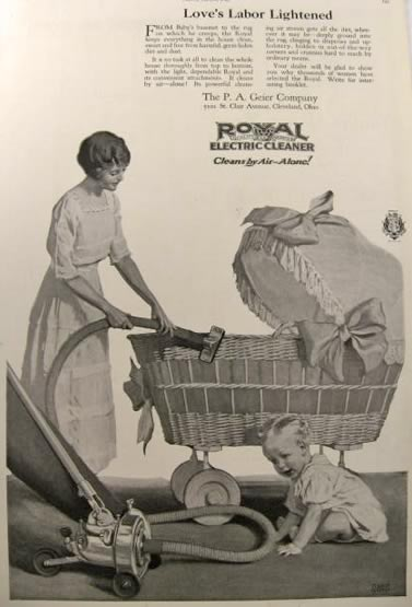 Vacuuming Your Baby Amp Other Oddities 5 Vintage Vacuum Ads