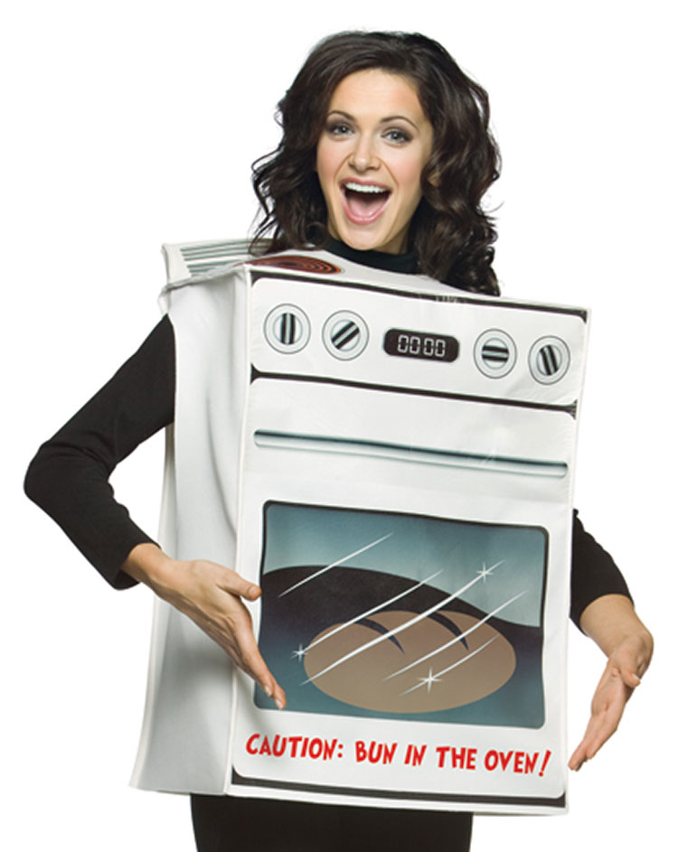 Bun in the oven' & other appliance-themed Halloween costumes