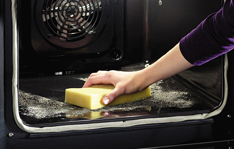 Pyrolytic ovens clean themselves whenever you run the special cycle