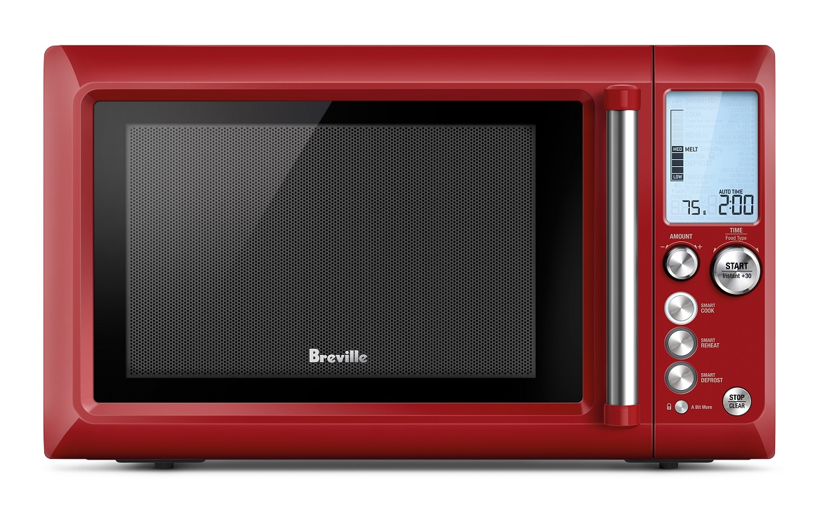 New Breville Microwave Makes It Impossible To Ruin Food