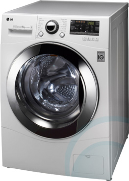 8kg Front Load LG Washing Machine WD14024D6