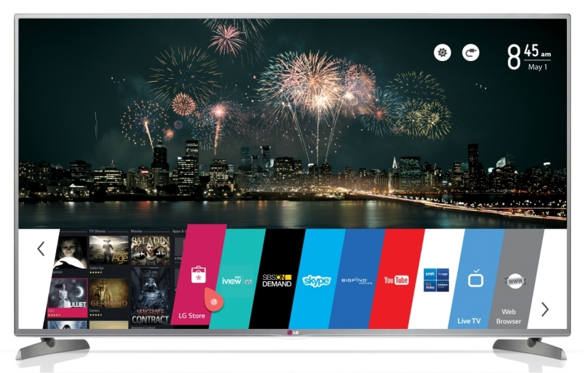 LG's webOS makes Smart TV simple and fun « Appliances Online