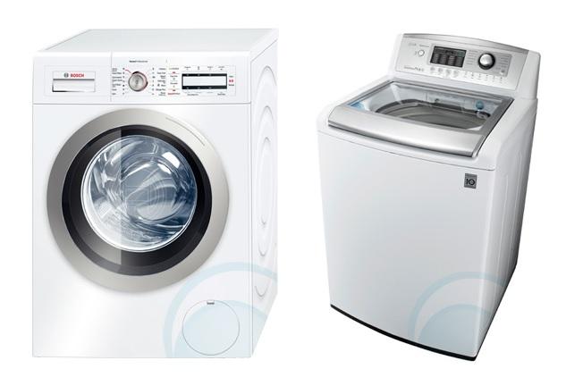 front loader vs top loader washing machine
