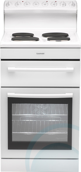 Freestanding Euromaid Electric Oven Stove R54EW