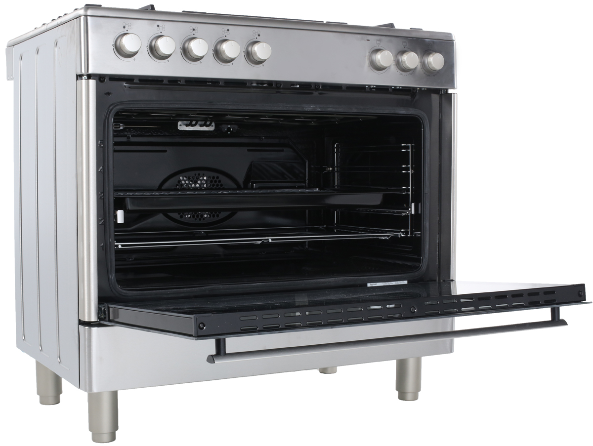 Freestanding Euromaid Dual Fuel Oven Stove GE90S