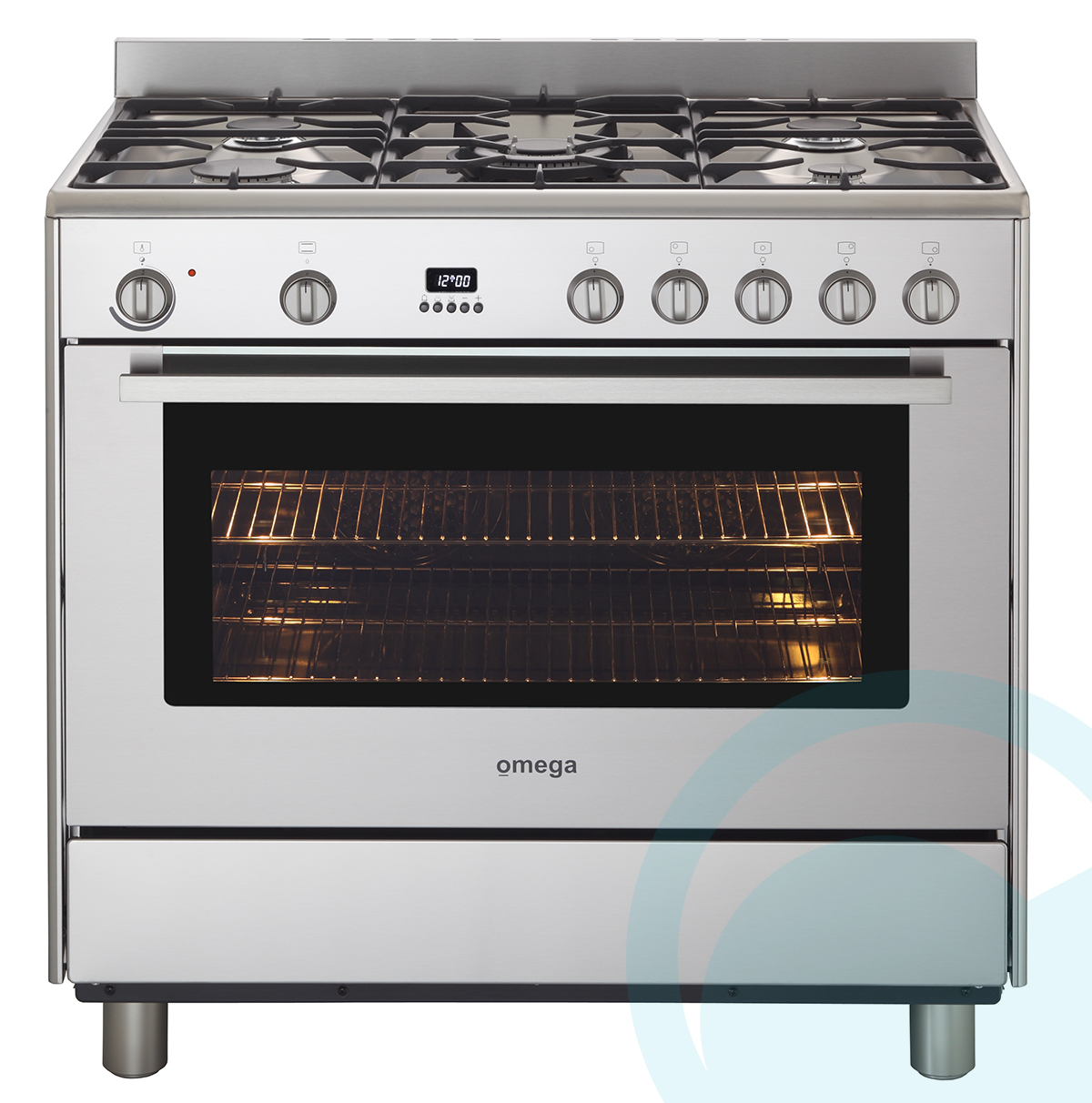 Freestanding Omega Dual Fuel Oven Stove OF901XZ