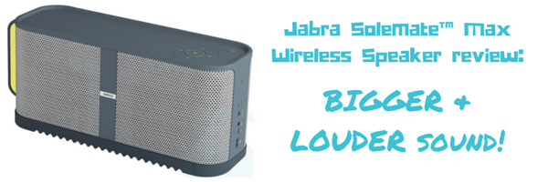 Jabra Solemate™ Max Wireless Speaker review