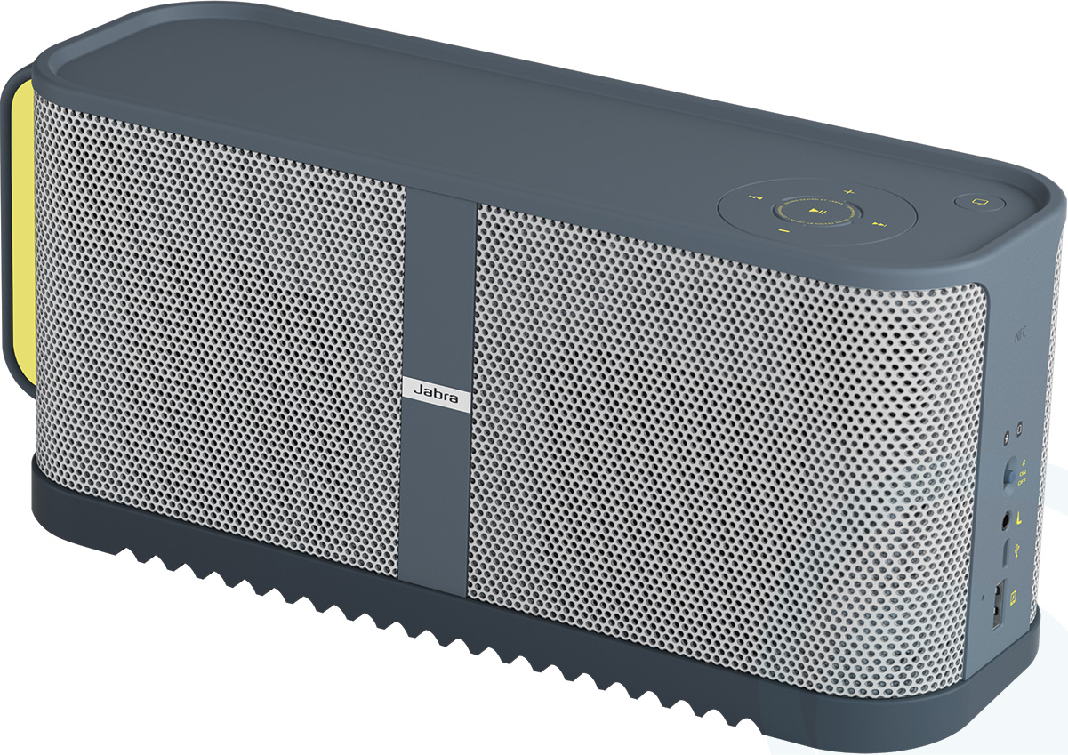 Jabra Solemate Max Wireless Speaker with Bluetooth 100-97400001-33