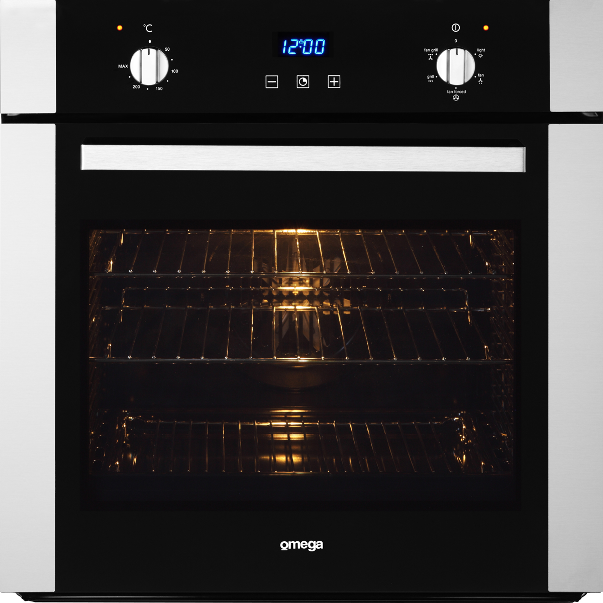 Omega OO686X Electric Wall Oven 600mm 60cm