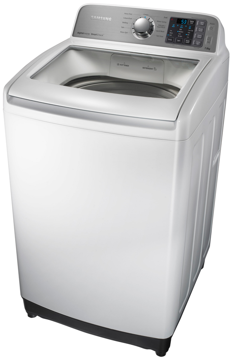 SamsungSamsung WA70F5G4DJW 7kg Top Load Washing Machine