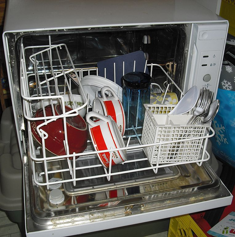 Countertop Dishwasher Heated Dry : before they go in the dishwasher isn?t necessary , as dishwasher ...