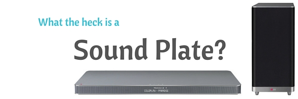 what the heck is a sound plate