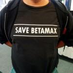 save betamax tee