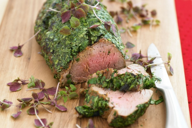 Marinated beef- Image & Recipe sourced from Taste