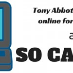Tony Abbott buys a fridge online for Christmas – and so can you!