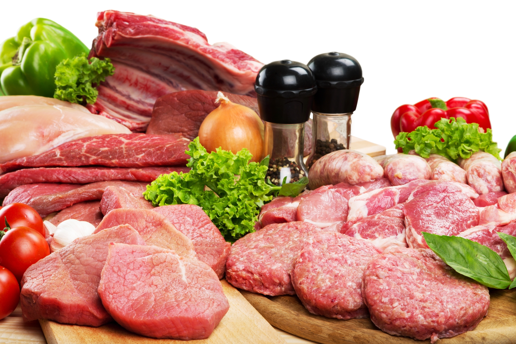 Pressure cooker meats and vegetables