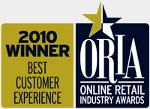 Best customer experience - Online Retail Industry Award