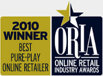 Best pure play online retailer - Online Retail Industry Award