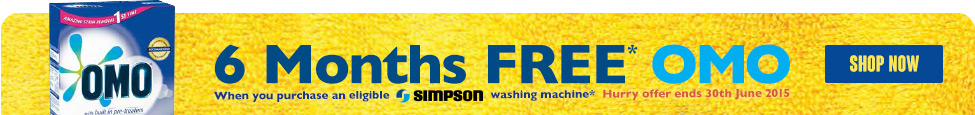 Discover the range of Simpson Laundry Appliances