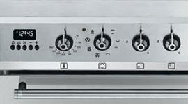 Freestanding Smeg Dual Fuel Oven Stove C7gmxa8