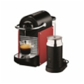 Delonghi EN125RAE Nespresso Pixie Coffee Machine Front View