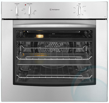 600mm/60cm Westinghouse Gas Wall Oven GOP474SLPG