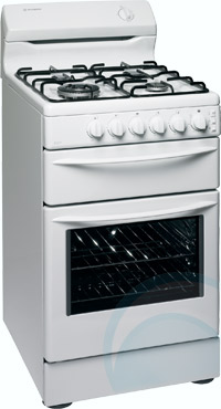 Great Freestanding Westinghouse Gas Oven/Stove GUK527W
