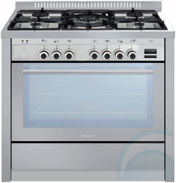 Glem Upright Stove & Rangehood ML96PROEI3PACK
