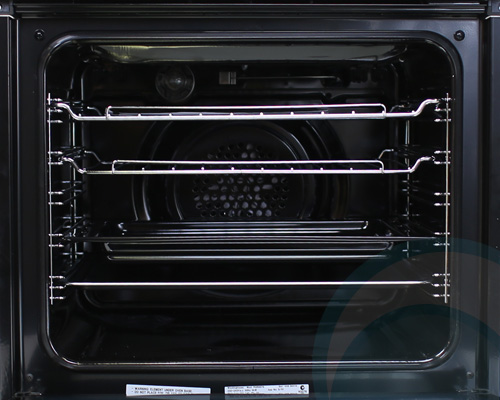 600mm/60cm Westinghouse Electric Wall Oven POR667S Open