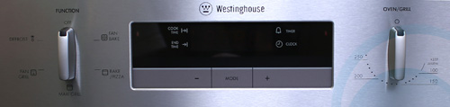 Westinghouse Electric Wall Oven POR667S Control Panel