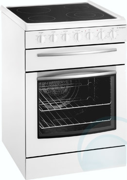 Exceptional Freestanding Westinghouse Electric Oven/Stove PSP632W