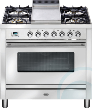 Freestanding Ilve Electric Oven/Stove PW90IMP