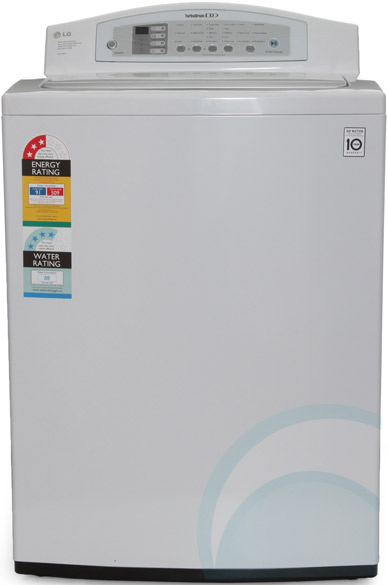 85kg top load lg washing machine wtr854