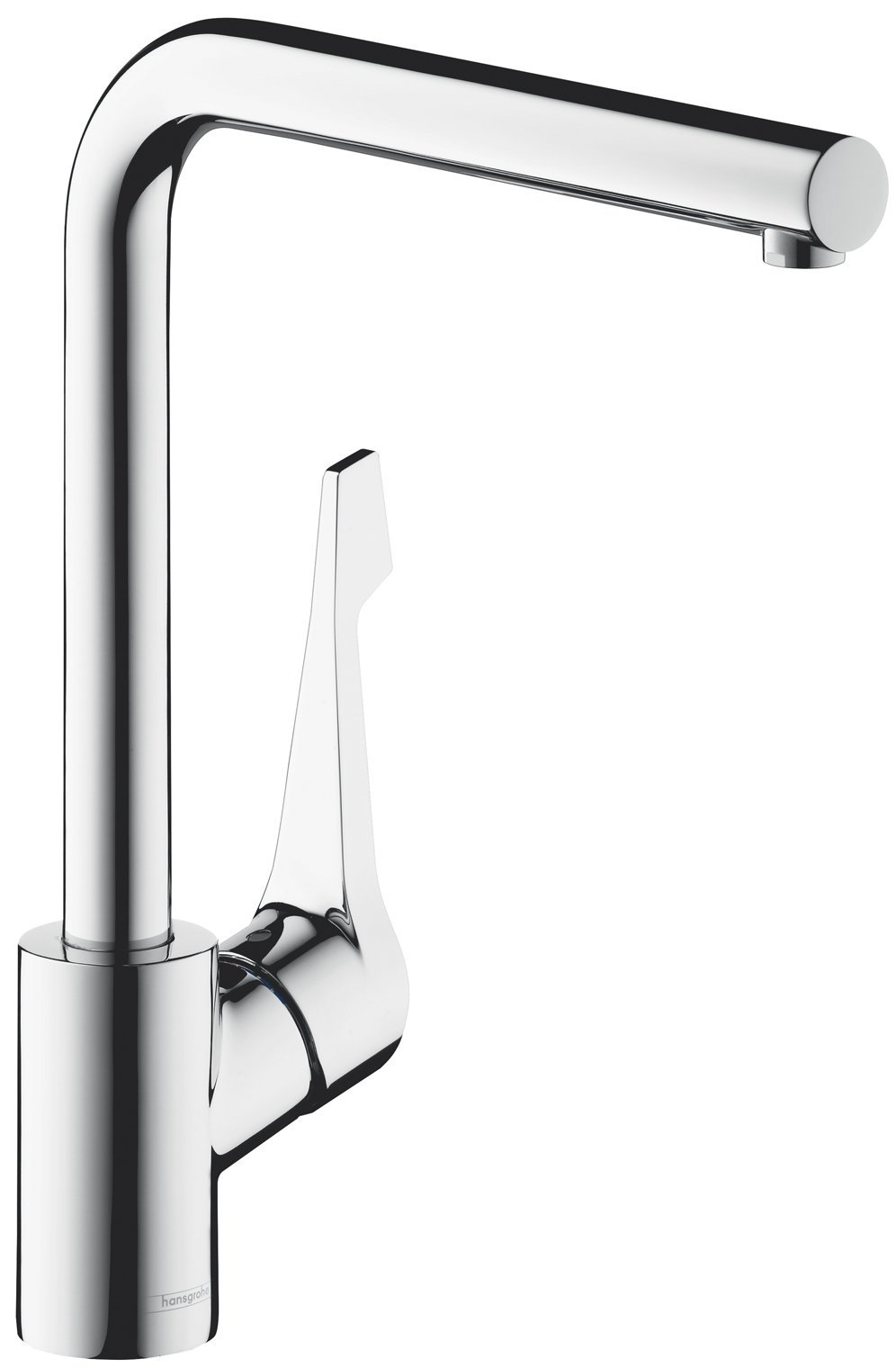 Hansgrohe 14802003 Cento Square L Right Angle Kitchen Mixer Tap ...