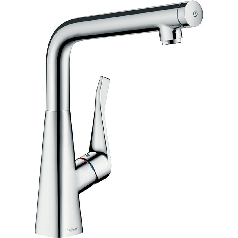 Hansgrohe 14883003 Metris Select 320 Right Angle Mixer | Appliances ...