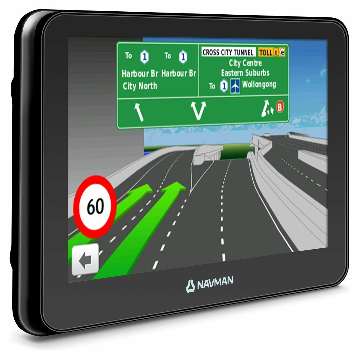 Navman EZY450LMT GPS Navigation System with 5 Inch Screen and Bluetooth  4213564