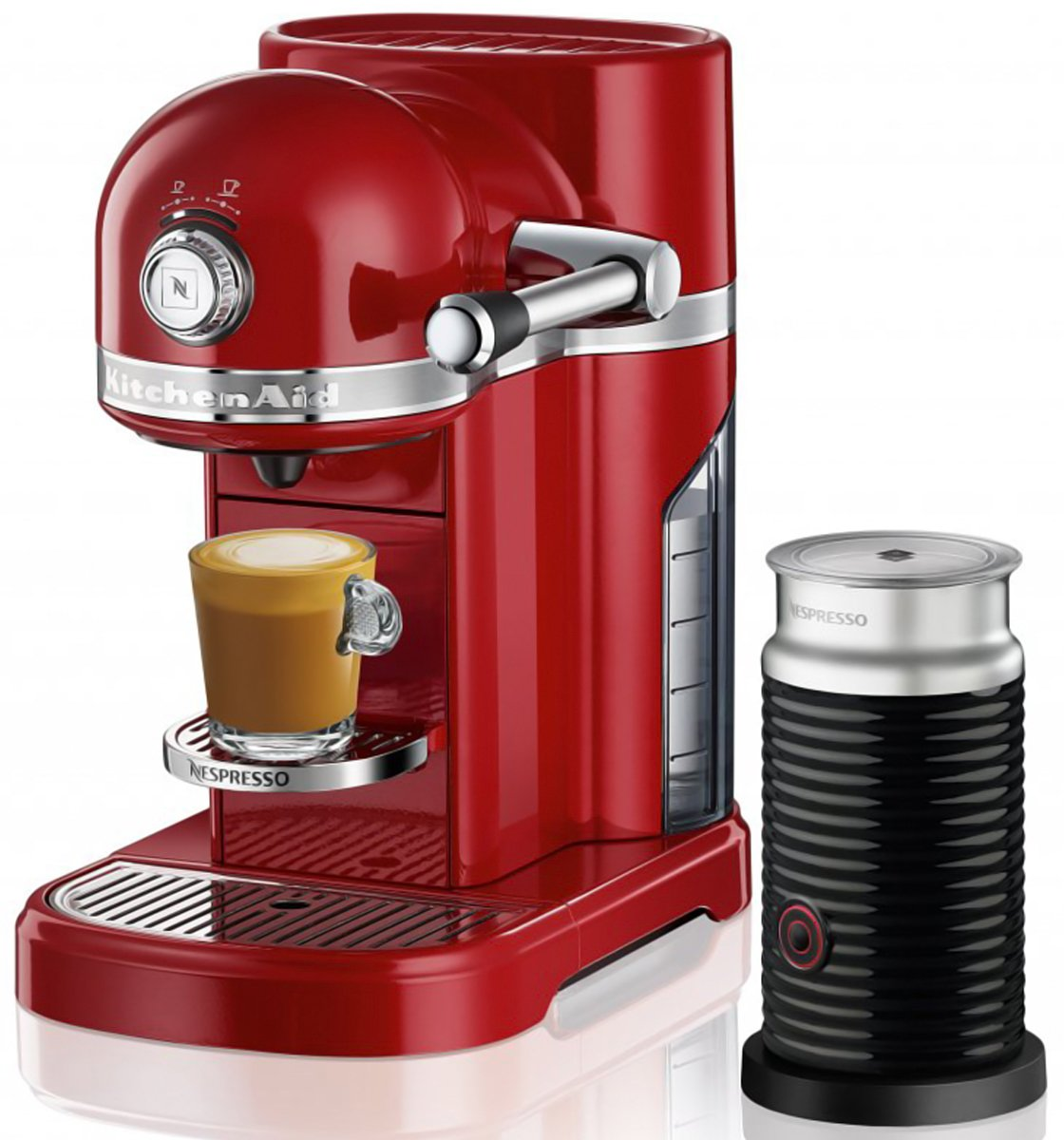 Kitchenaid 5kes0504aca Nespresso Coffee Machine Candy Apple Red
