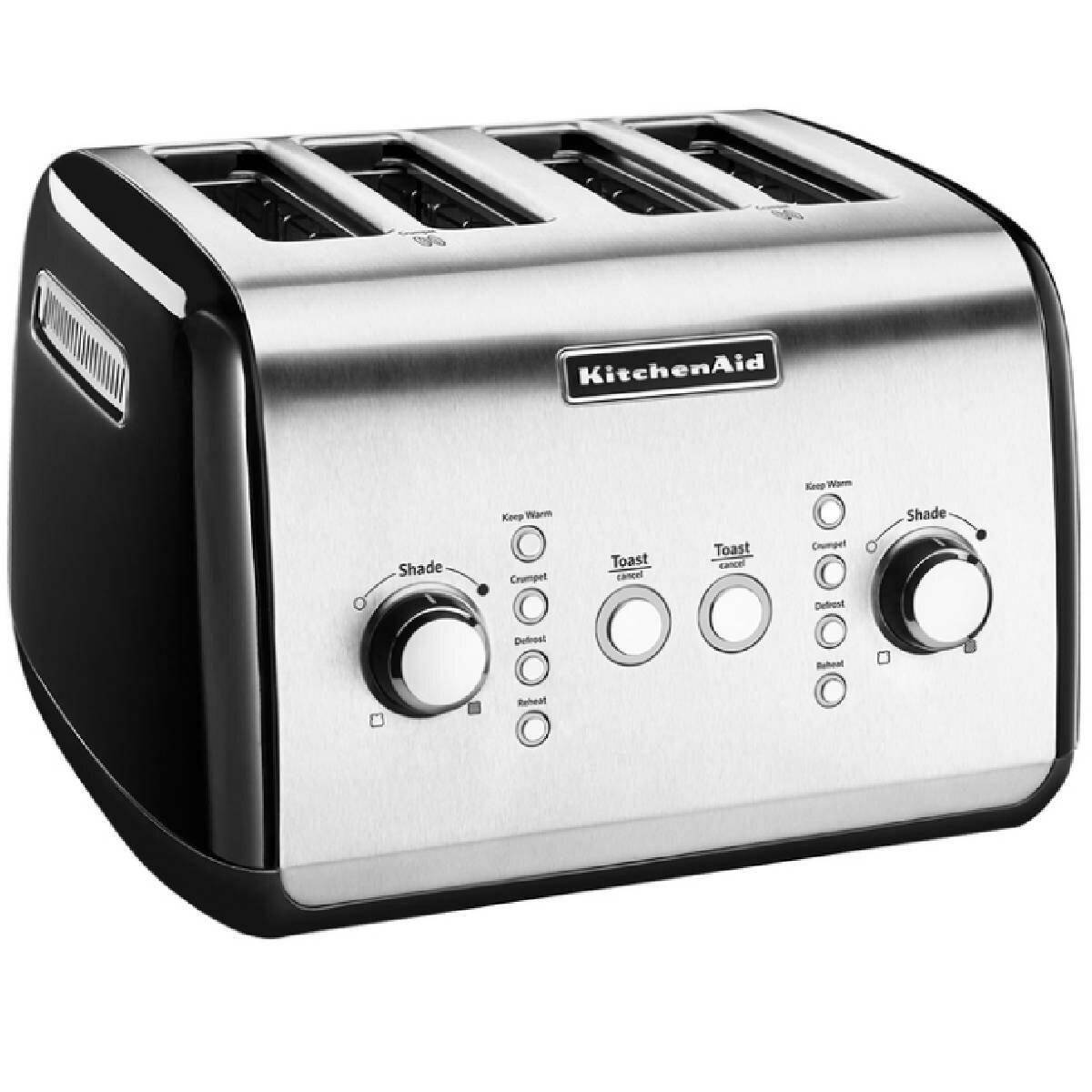 Kitchenaid Classic Automatic 4 Slice Toaster 5kmt421aob Appliances Online