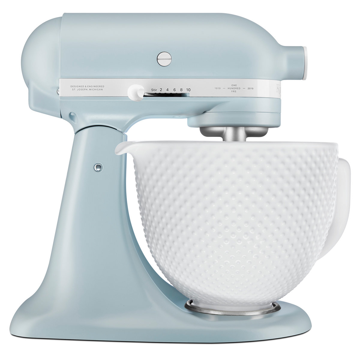 Details About New Kitchenaid 5ksm180rcamb 100 Years Misty Blue Retro Stand Mixer