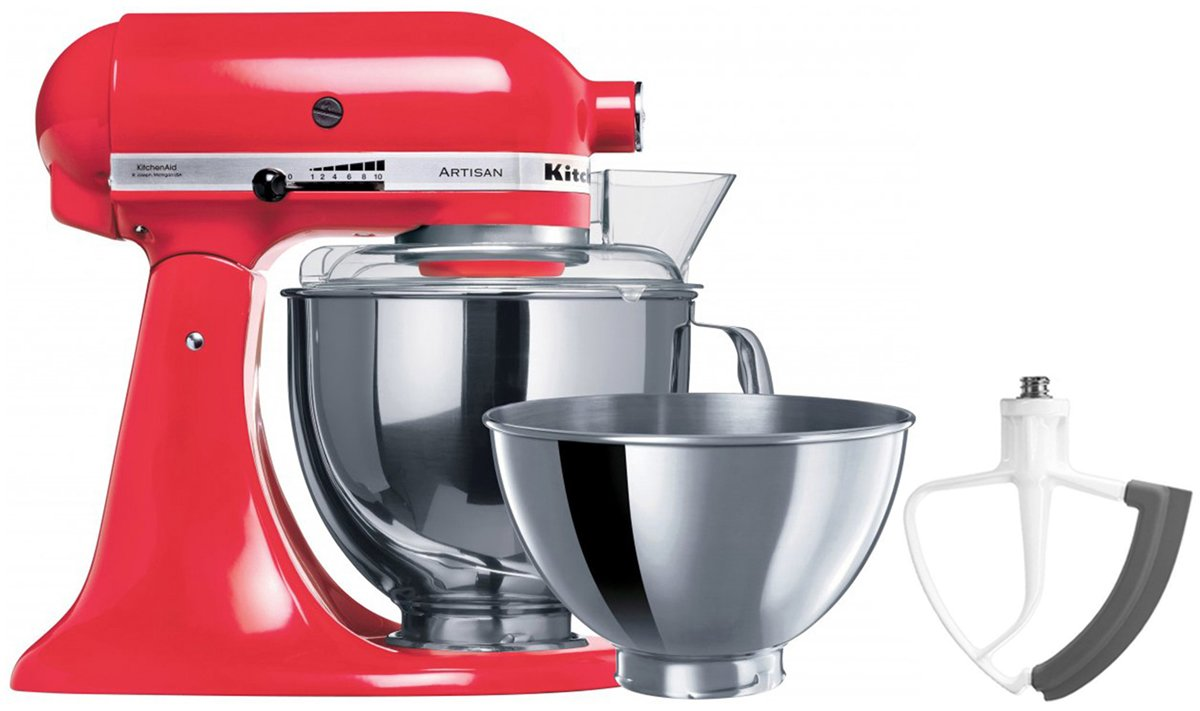 New Kitchenaid 93411flexbonus Ksm160 Artisan Stand Mixer With Flex Edge Beater Ebay