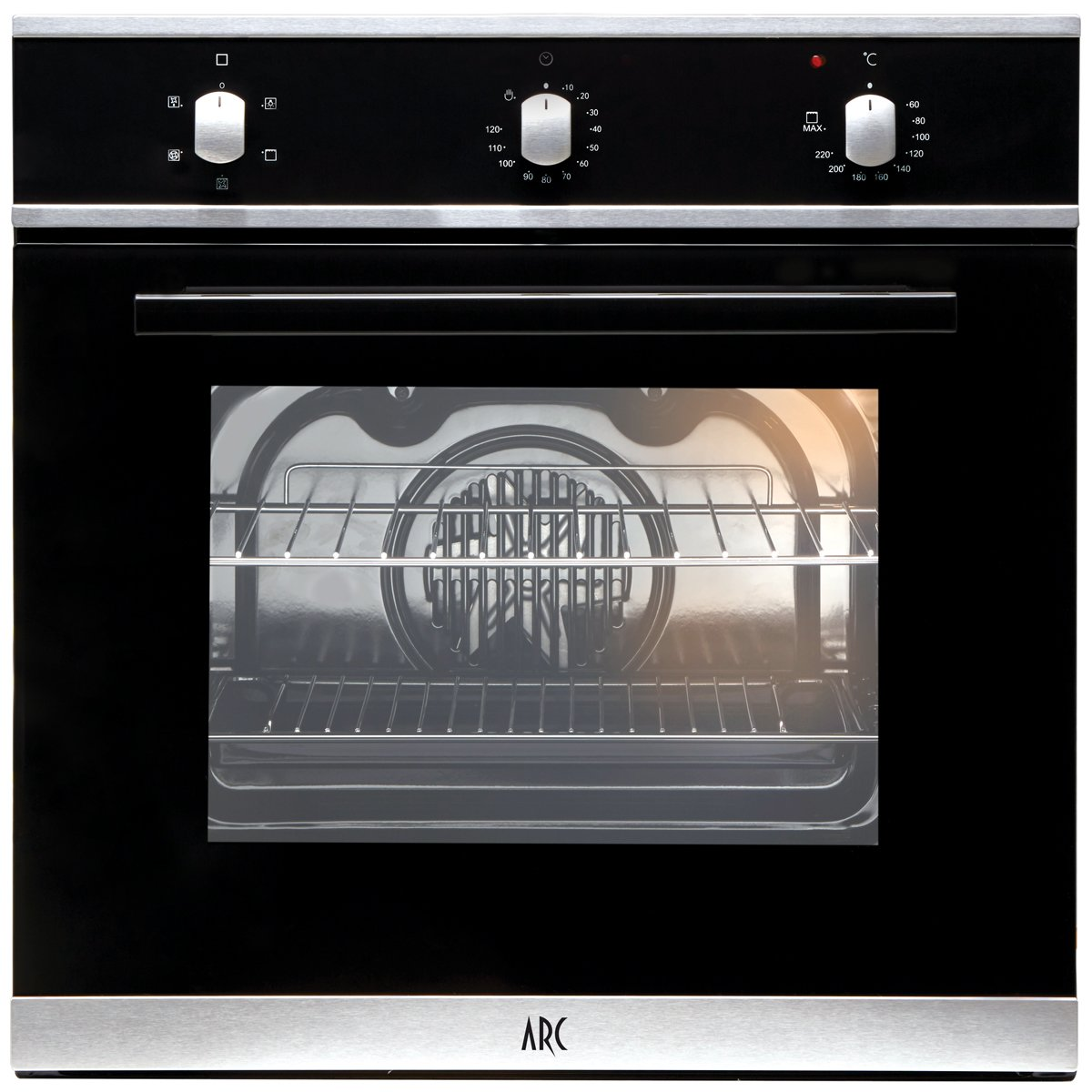 arc ar5s 60cm electric builtin oven appliances online - Electric Wall Oven