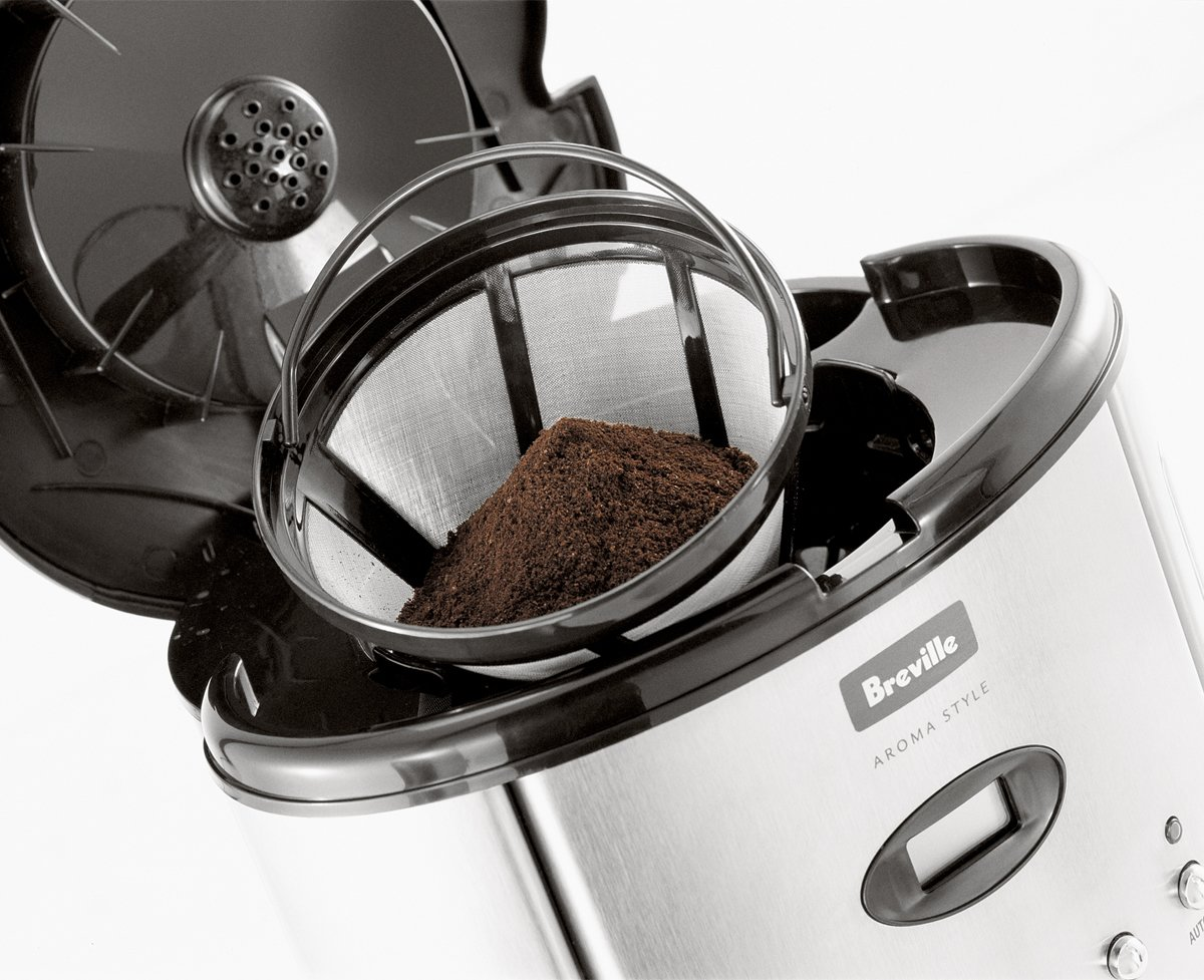 Breville Coffee Maker No Water : NEW Breville BCM600 Aroma Style Coffee Maker 9312432010559 eBay