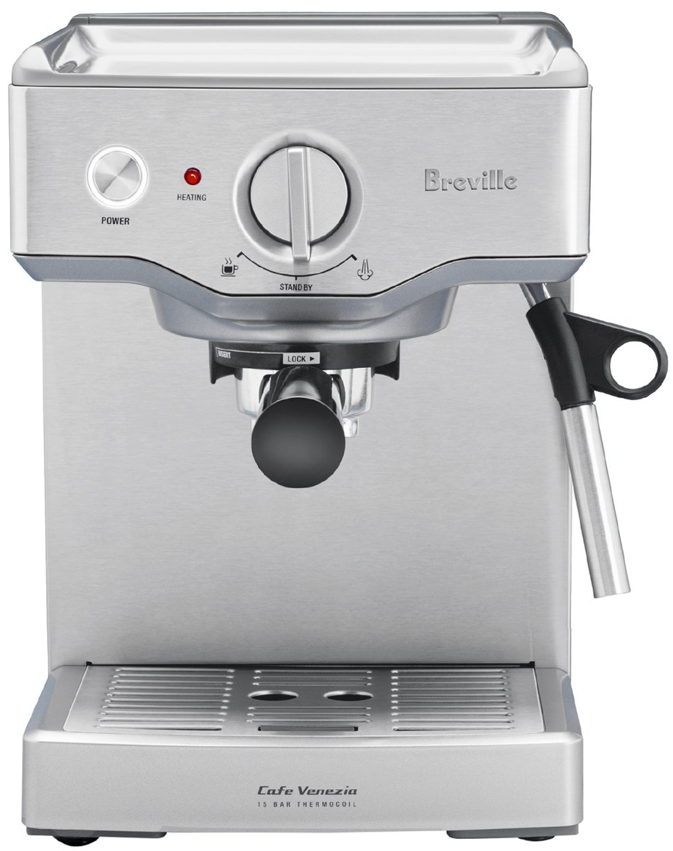 New breville bes250 cafe venezia coffee machine New coffee machine